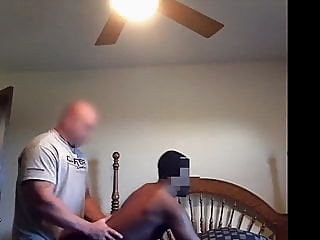 SkinHead White Thug Bare Pounds Black Bitch 7:23 2016-01-26