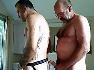 Servicing the best bud amateur (gay) bear (gay) big cock (gay)