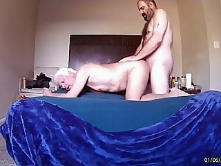 BEAR FUCKS GRANDPA amateur (gay) bear (gay) daddy (gay)