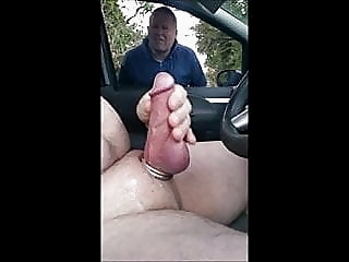 Man Cum Flash amateur (gay) masturbation (gay) outdoor (gay)