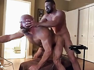 Breeding the beast bareback bear blowjob
