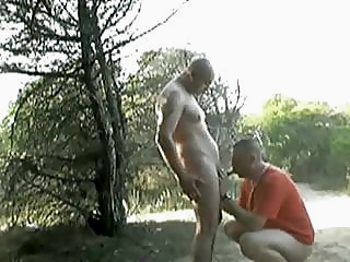 Outdoor ... man sucks man man (gay) gay porn (gay) outdoor (gay)