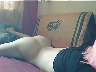 Hentai Boy Gay Big Dick pink hair handjob emo tranny 2:19 2013-10-24