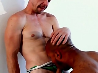 Ebony muscle assfucking white butt big cocks (gay) blowjob (gay) gays (gay)